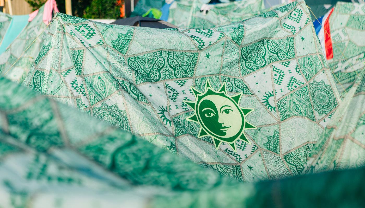 Oasis A-Shape Tent Tomorrowland LIFFIN