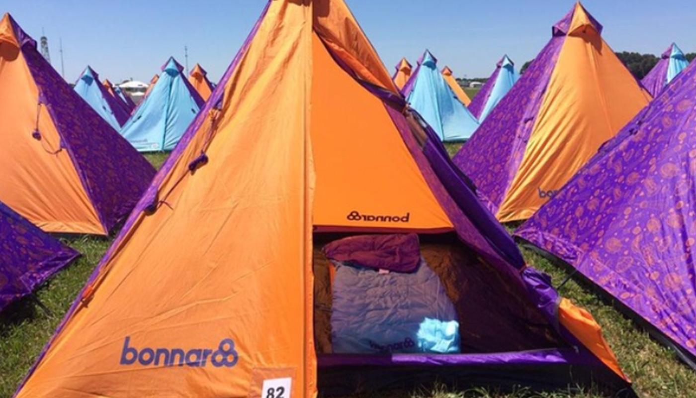 Prince Tipi Bonnaroo Festival LIFFIN
